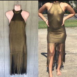 Cute Gold Dress